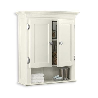 Fairmont Wall Cabinet In White  Furniture  Pinterest Inspiration Bathroom Wall Cabinet Decorating Inspiration