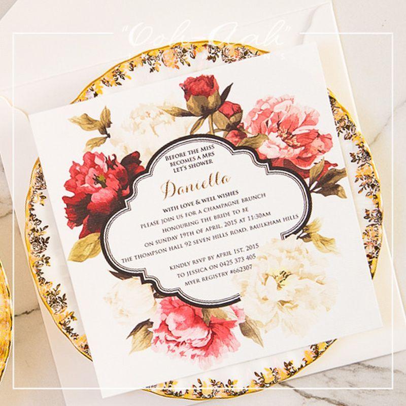 Kitchen tea card hard cover wedding invitations sydney designed by kitchen tea card hard cover wedding invitations sydney designed by ooh aah invitations stopboris Image collections