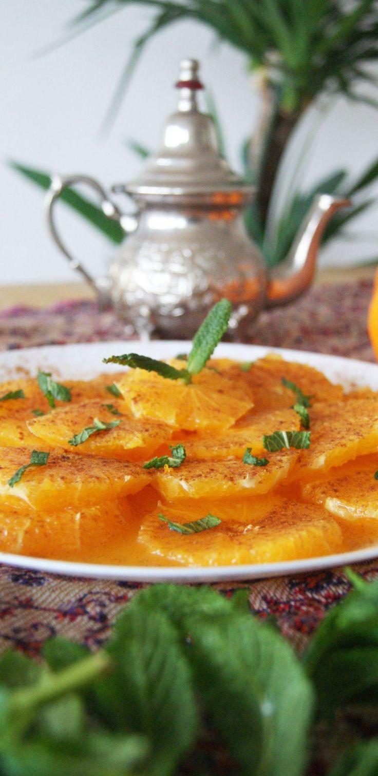Marruecos: Ensalada de Naranjas con Canela