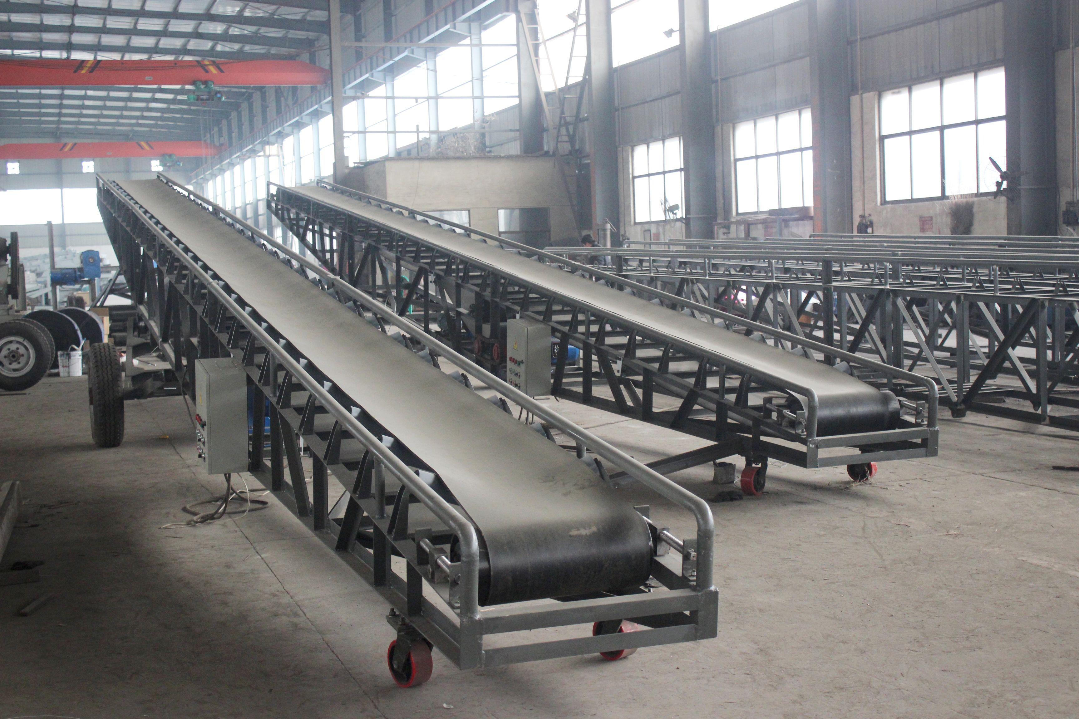 Portable Belt Conveyor Conveyor Conveyor Belt Conveyors