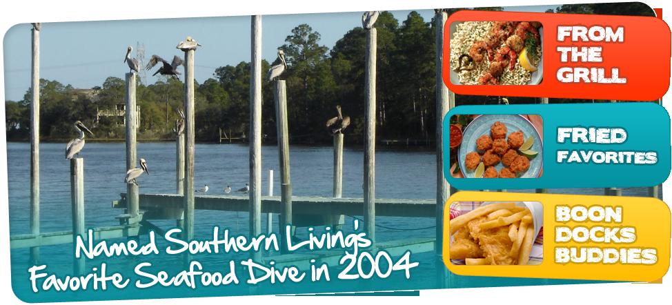 Seafood Restaurant Panama City Dockside Dining Beach Boon Docks