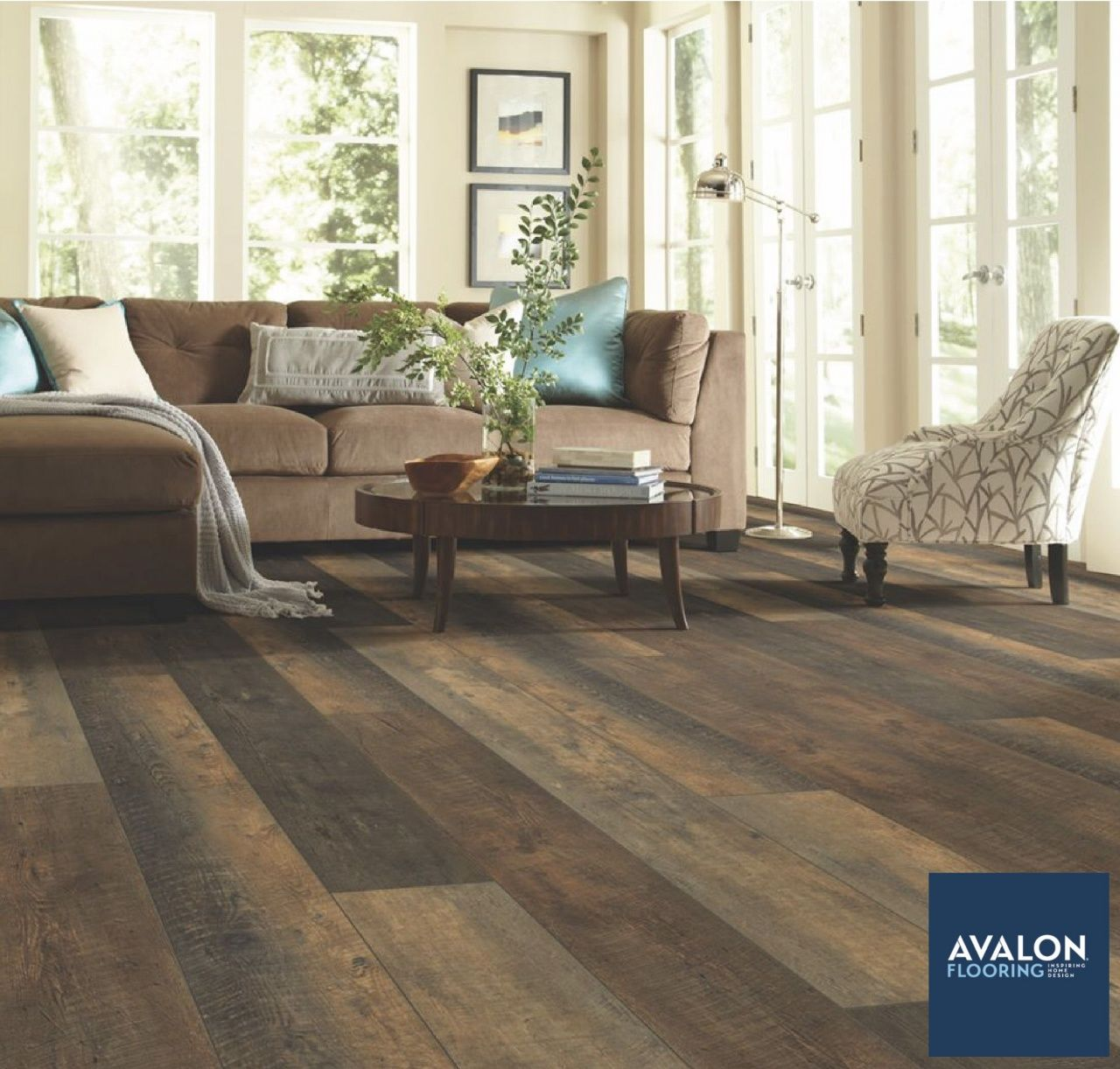 How to Install Vinyl Plank Flooring On Concrete in 2020