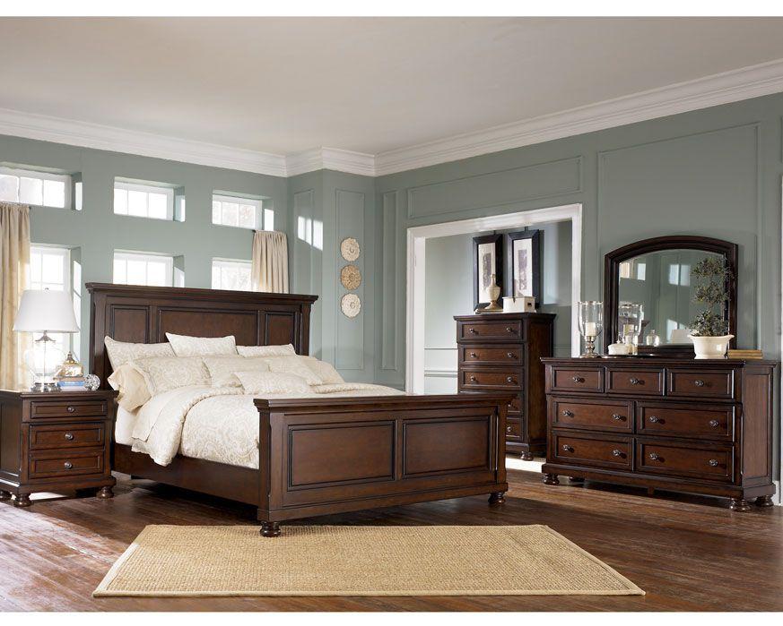 Queen Bedroom Set B697-QBS Porter, Furniture Factory Direct Bedroom ...