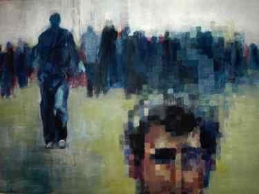 """Saatchi Online Artist Marek Jarotta; Photography, """"Alone between many people"""" #art"""