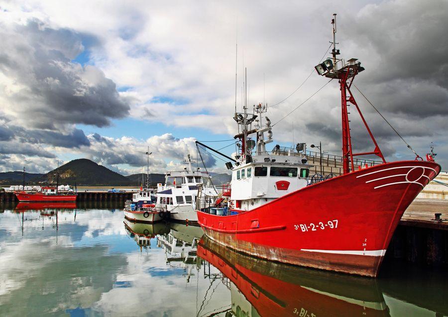 Puerto de Santoña   Cantabria   Spain