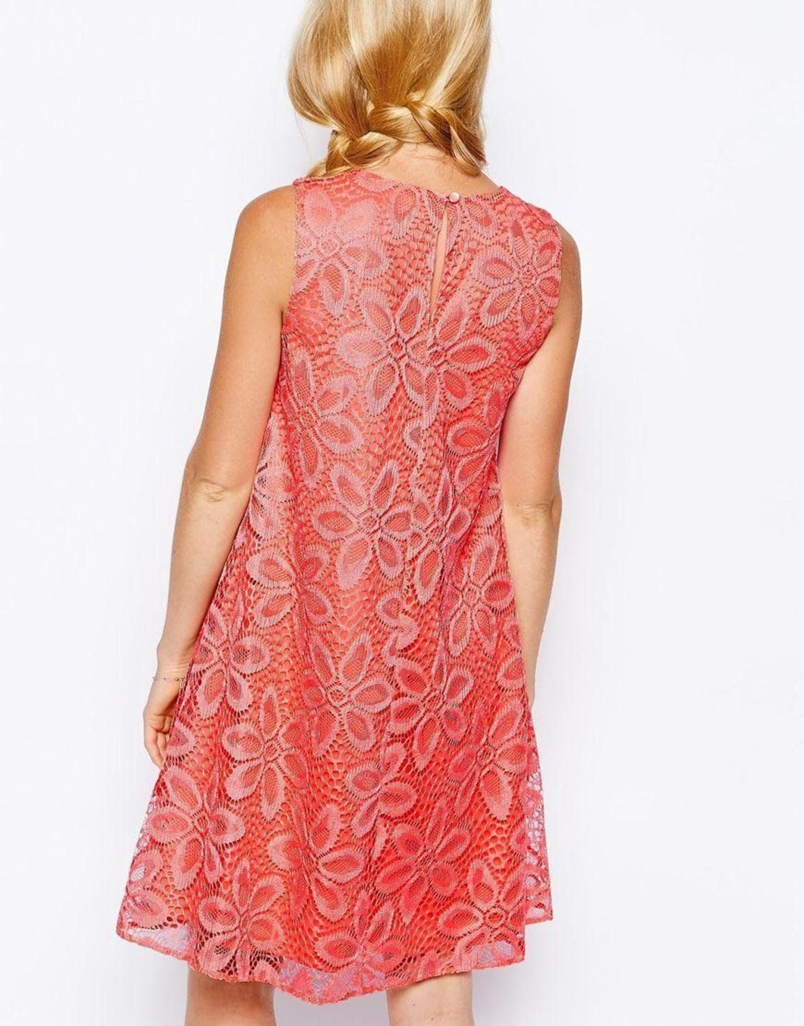02647912f04 ASOS Maternity Swing Dress In Big Flower Lace http   picvpic.com