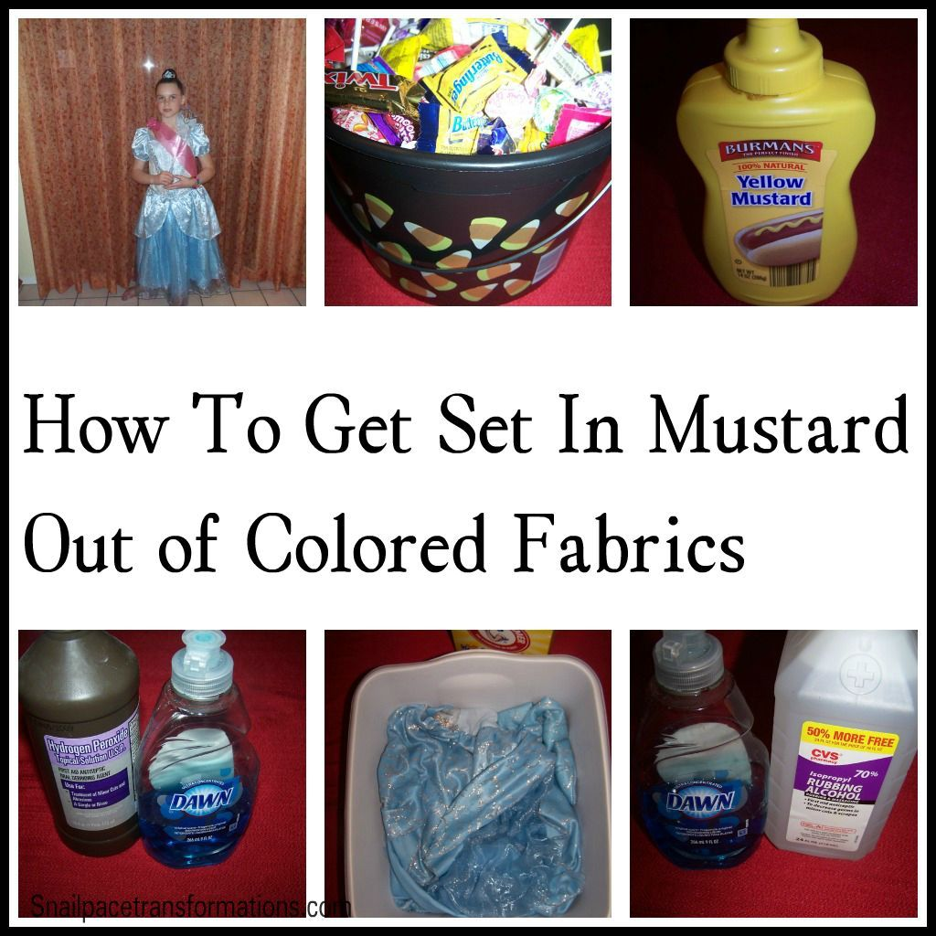 How To Get Mustard Out