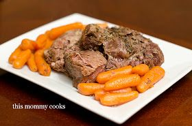 This Mommy Cooks: Crock Pot Leg of Lamb {Slow Cooker}
