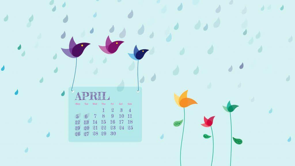 April 2021 Wallpaper Calendar Free April 2021 Wallpaper | Wallpaper, Cute calendar, Calendar