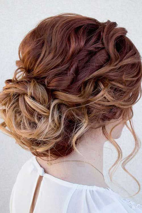 50 Cute And Trendy Updos For Long Hair Bridal Hairstyle Updo And