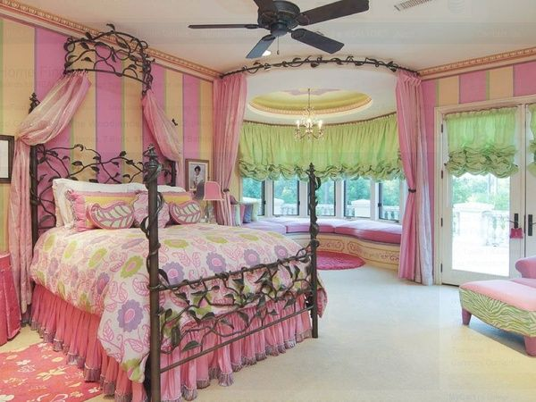 mansion bedrooms for girls