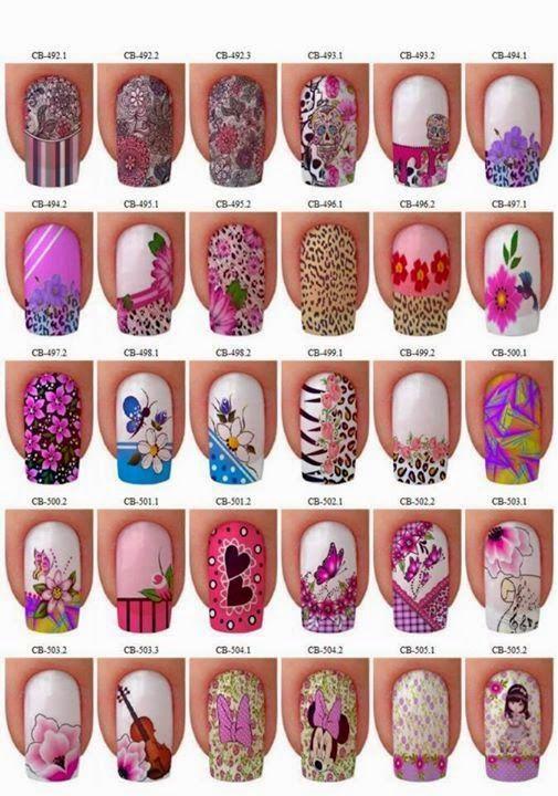 Uñas decoradas, descargar uñas, decoracion, decorados, uñas modernas - uas modernas