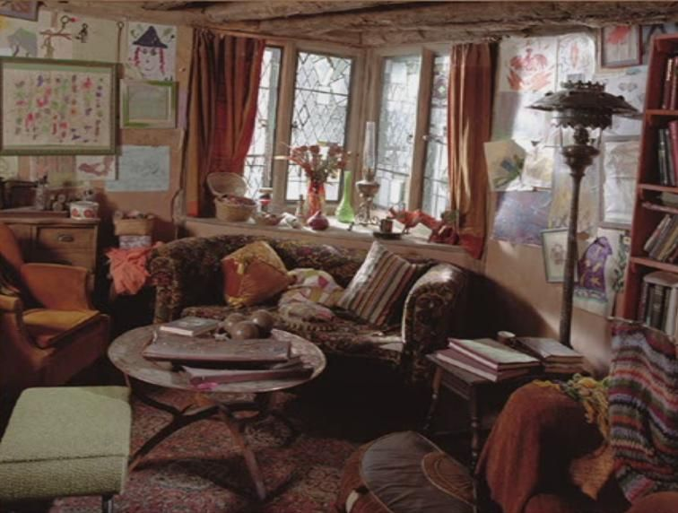 Images Of The Burrow The Burrow Harry Potter Weasleys House The Burrow