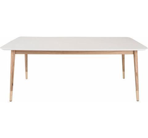 Design Witte Eettafel.Andas Eettafel Vigga In 2 Kleuren En 3 Afmetingen Eetkamer