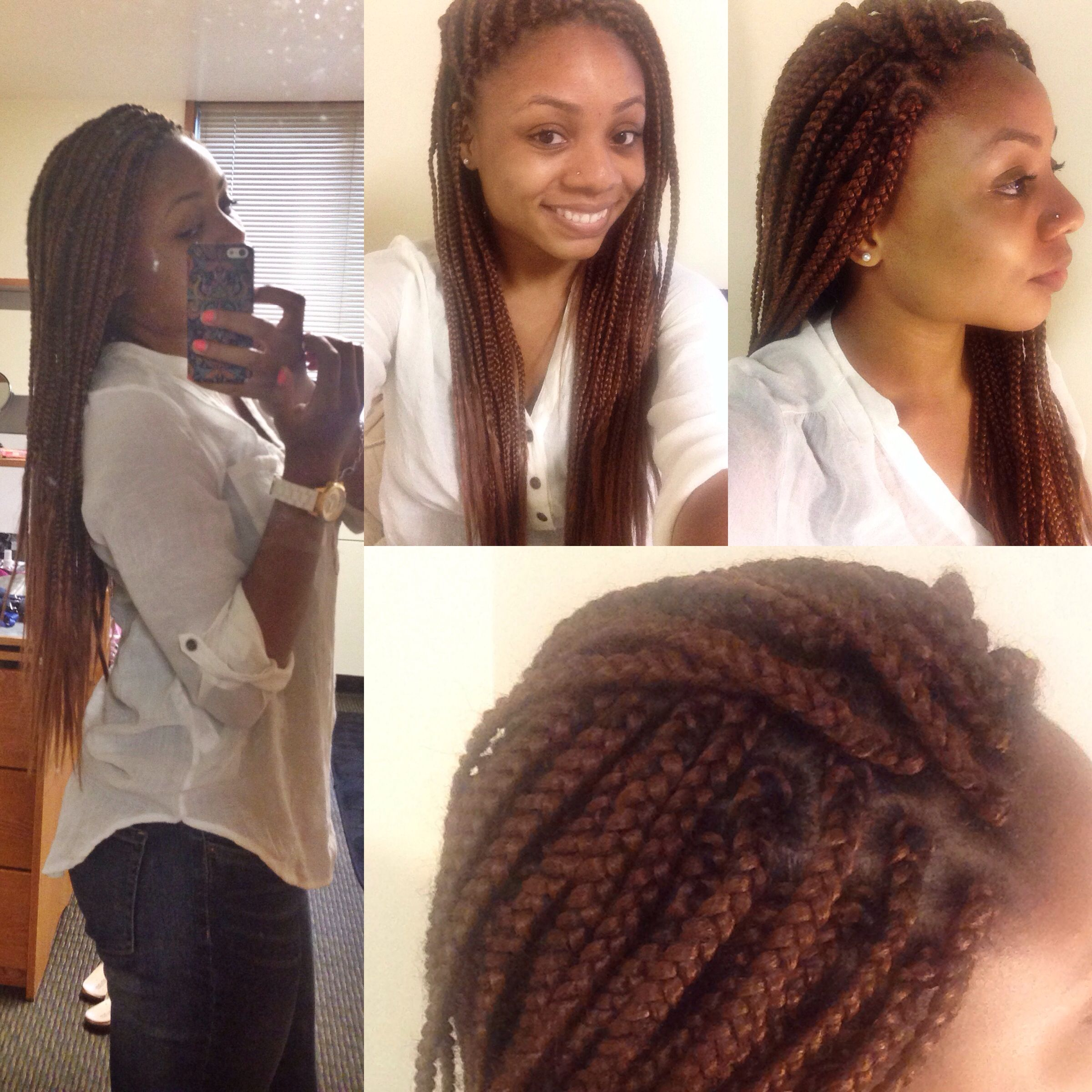 Style: Box Braids Color: 30 This is my favorite style that ...