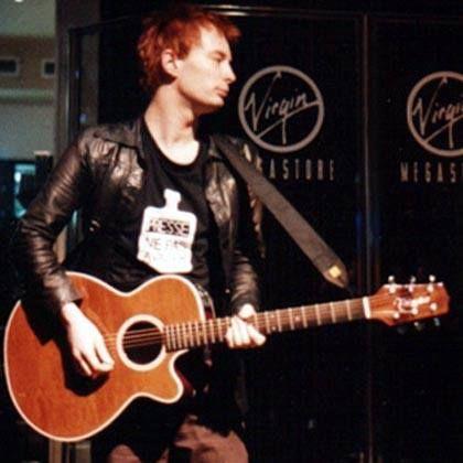 Thom Yorke - Radiohead - Takamine EF261SAN Guitar
