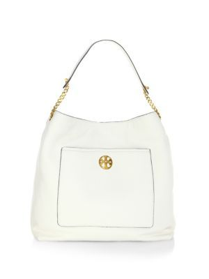 49ff11bd2ee7 TORY BURCH Chelsea Chain Leather Hobo Bag.  toryburch  bags  shoulder bags   leather  hobo
