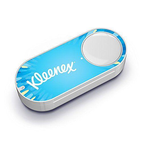 Der Amazon KleenexDash Button … … ist ein kleines Gerät mit einem Knopf…