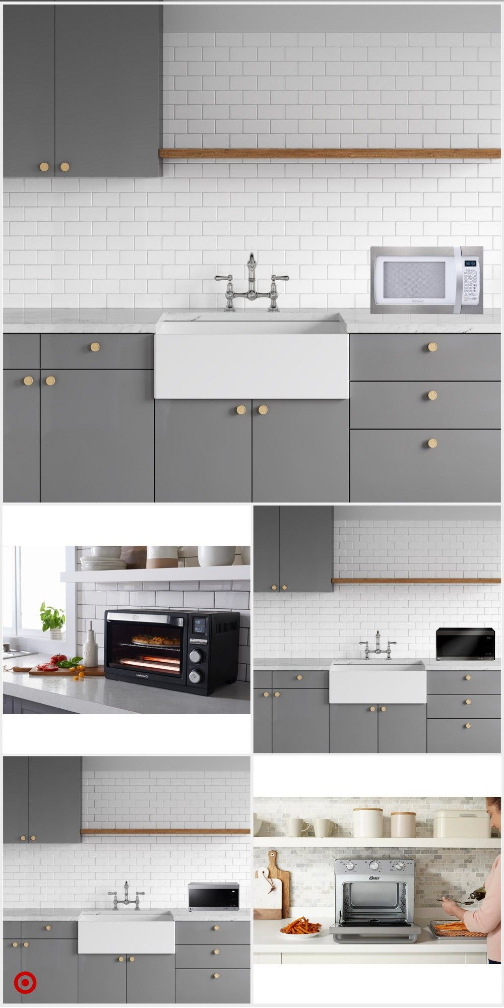 Shop Target For Countertop Ovens You Will Love At Great Low Prices Free Shipping On Kitchen Design Centre Interior Design Kitchen Small Kitchen Remodel Small