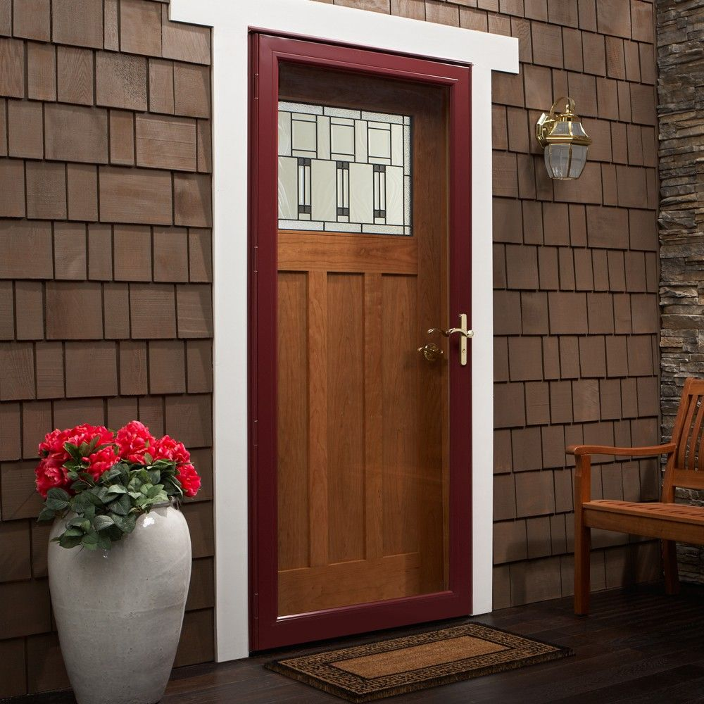 Andersen storm doors screen doors home design for Front door with storm door