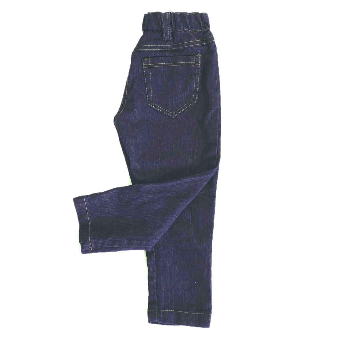 This Denim pull on pants with elastic waist band are a ...