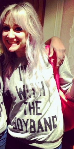 Lou's shirt is perfect. That's the shirt i'm gonna wear when I meet them so they'll load me onto the tourbus
