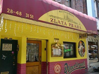 Zlata Praha, a Bohemian restaurant in Astoria
