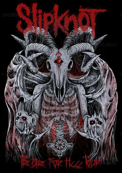 Pin by alibi on Slipknot | Slipknot, Heavy metal art ...