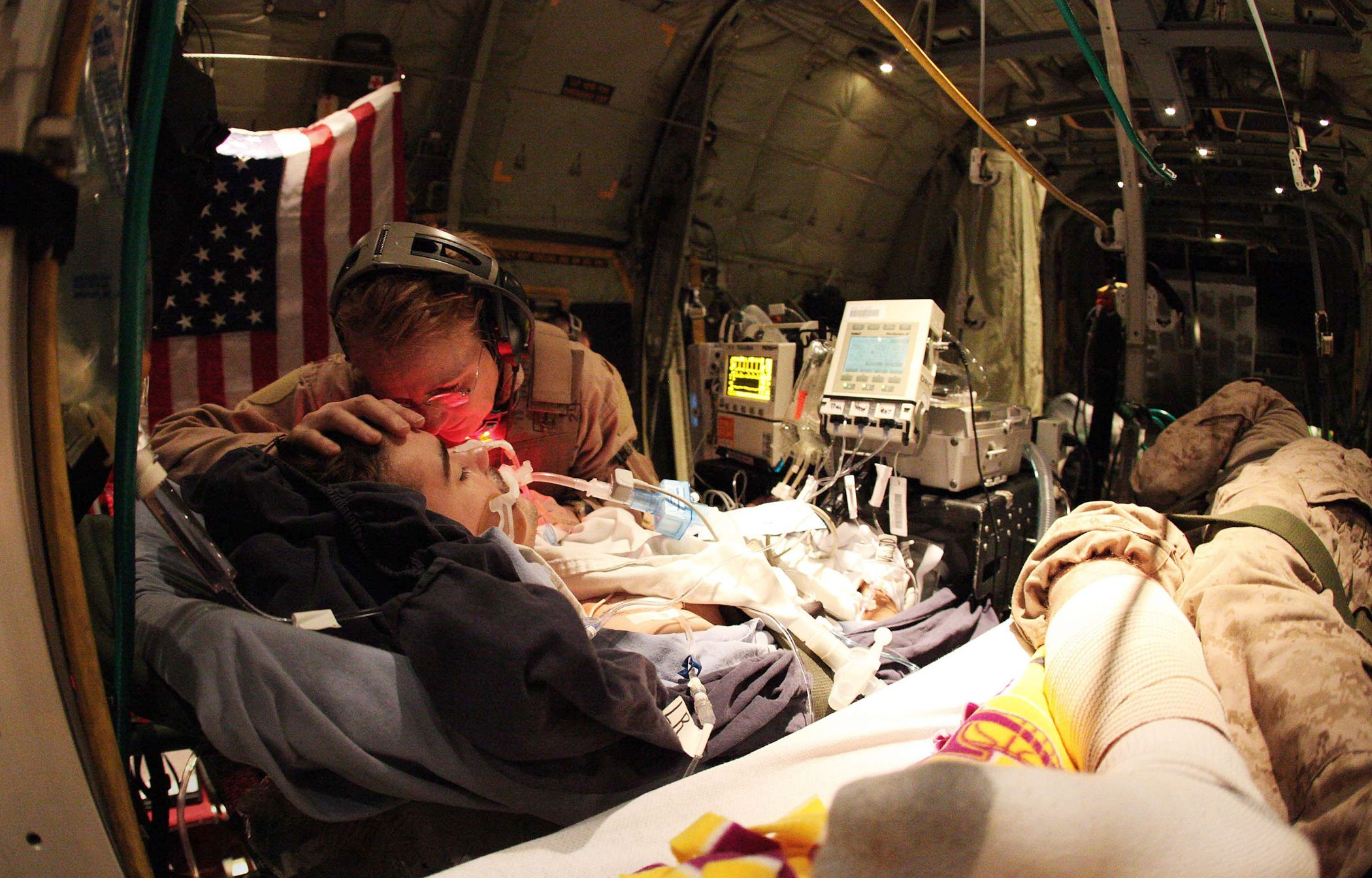 """Listen to """"Six Months with a Critical Care Air Transport"""
