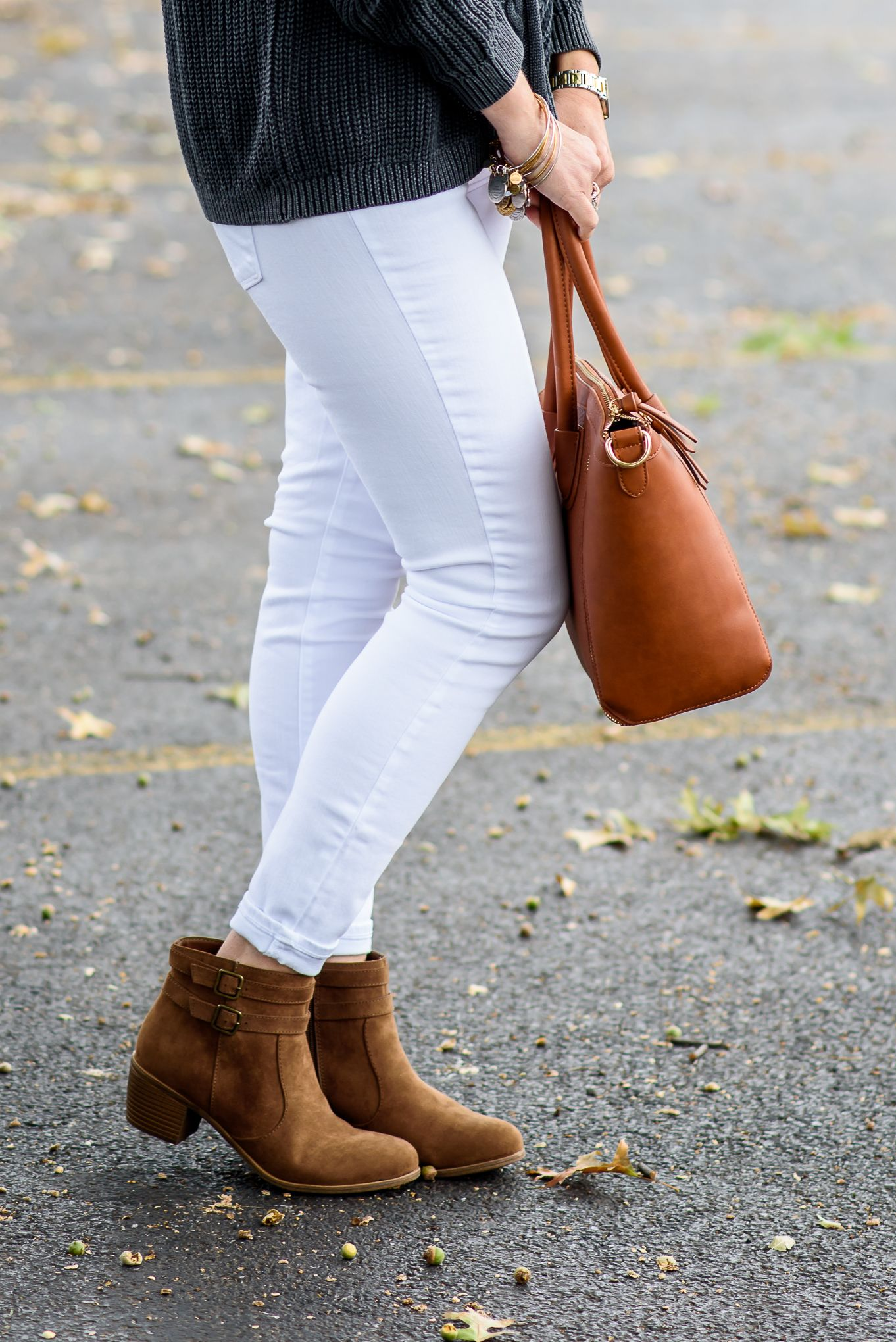 How to wear ankle boots cropped skinny jeans ankle