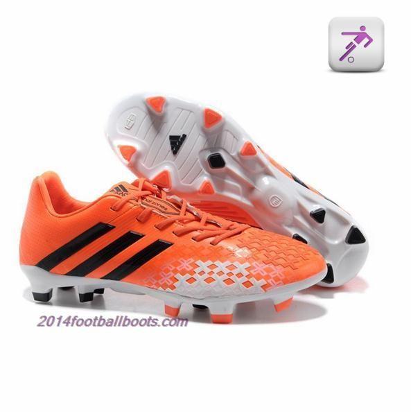 2014 Adidas Predator LZ TRX FG negro blanco rosa 2 Beckham futbol