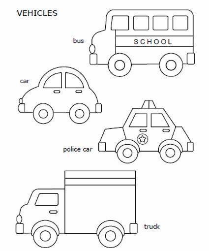 25+ Best Ideas about Quiet Book Templates on Pinterest Quiet - printable car template