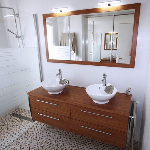 Spot applique pour miroir de salle de bain mod le pondora de salgar chrome brillant luminaire - Fixation miroir salle de bain ...