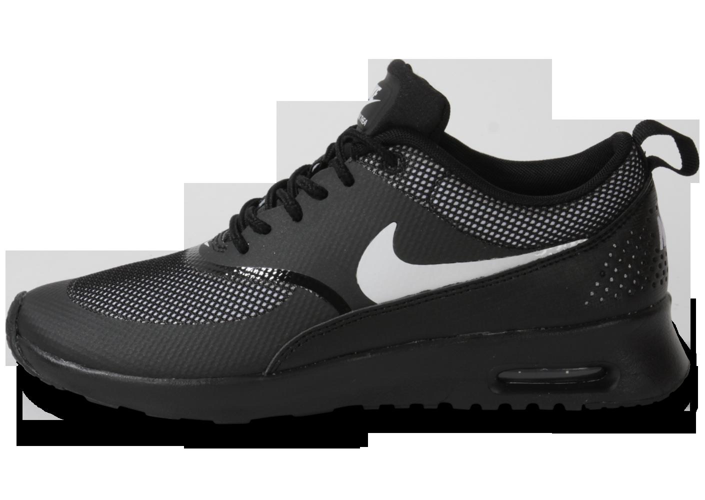 nike sportswear air max thea - baskets basses - black/white