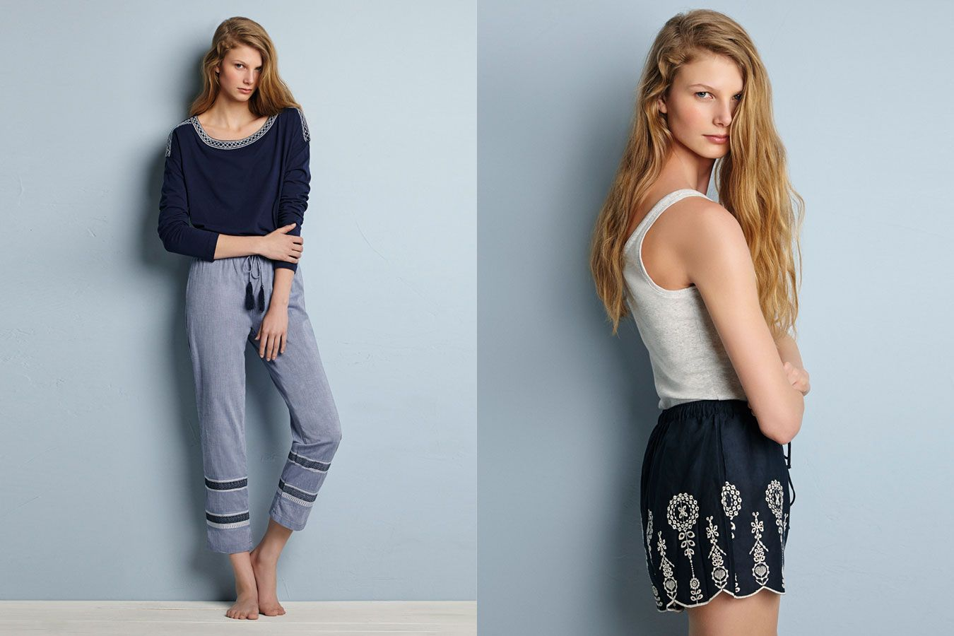 Oysho sleepwear primavera-verano 2014