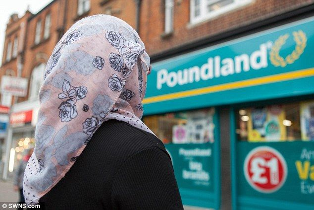 3.17.16 -Poundland worker: Masoomeh Jafari, 26, claimed she was left terrified after up to 30 youngsters attacked her