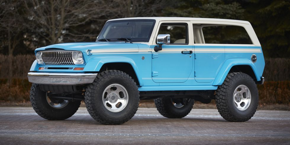 These seven 2015 Jeep concepts are headed to Moab