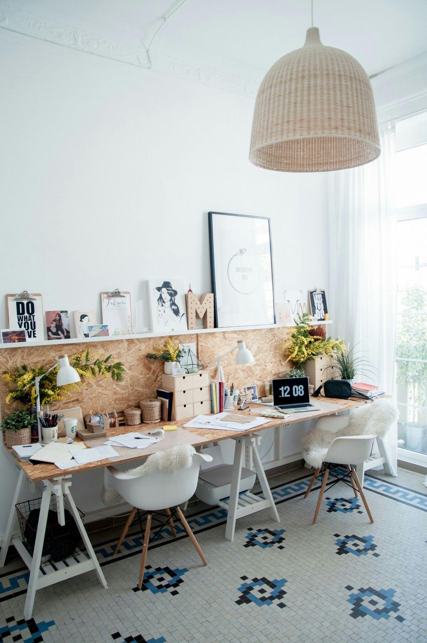 Yaratıcı Ev Çalışma Mobilyaları İle Dekorasyon 2019