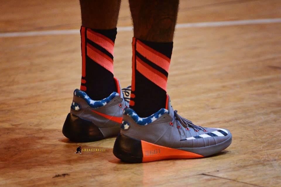 ... Paul George Debuts a New Nike HyperDunk 2015 Low PE • KicksOnFire.com  ...