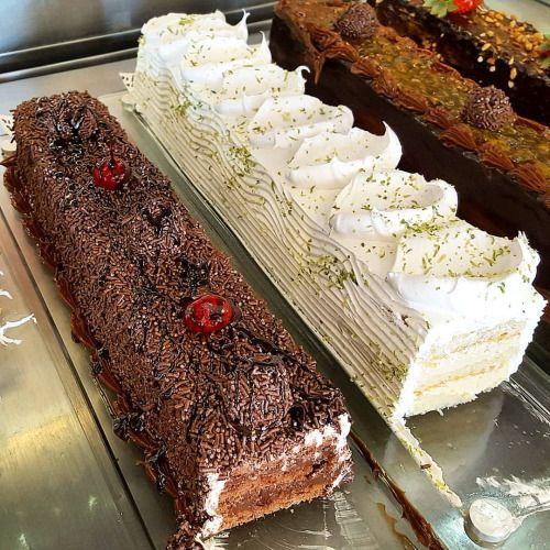 Torta de Brigadeiro ou Torta de Limão?! #confeitariapolos #goiania  (em Polos Pães e Doces)