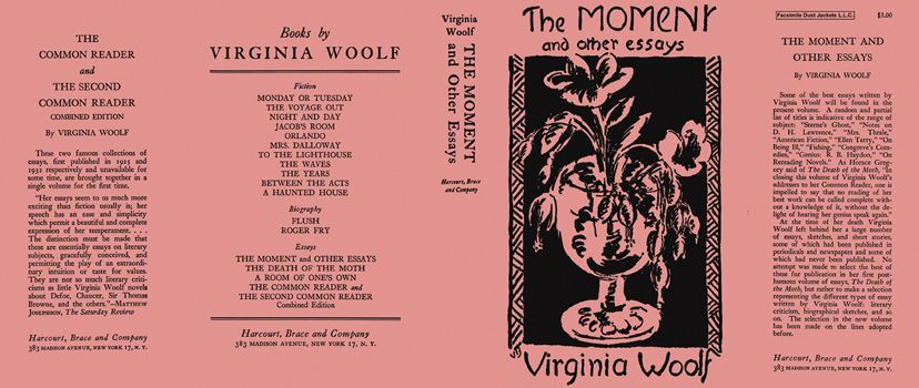 moment and other essays the virginia woolf books hardcover  moment and other essays the virginia woolf
