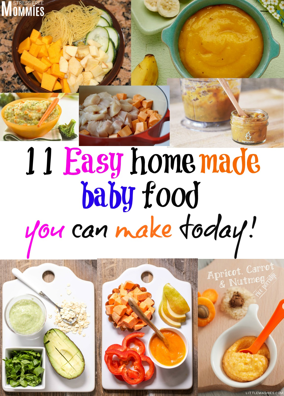 11 easy homemade baby food you can make today alimentacion bebe 11 easy homemade baby food you can make today stress free mommies forumfinder Gallery