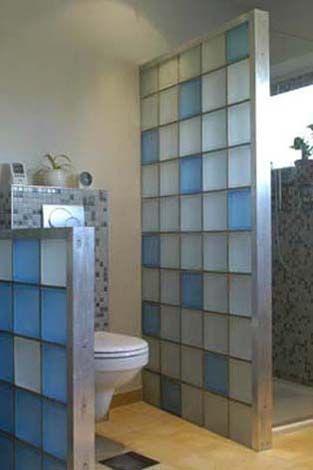 glasbausteine für dusche - im kleinen bad   Bad   Pinterest   kleine ...
