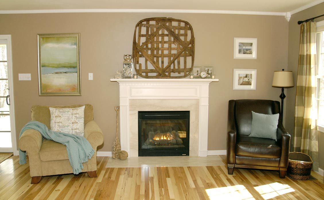 Living Rich On Lessliving Rich On Less: White Fireplace Mantel Makeover