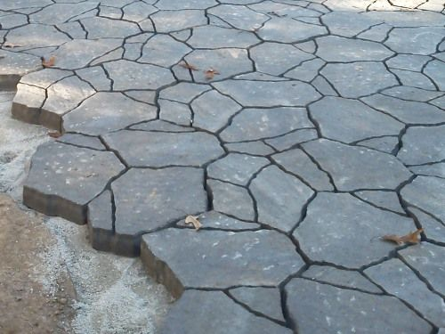 For The Paving The Clients Selected Belgard Mega Arbel In
