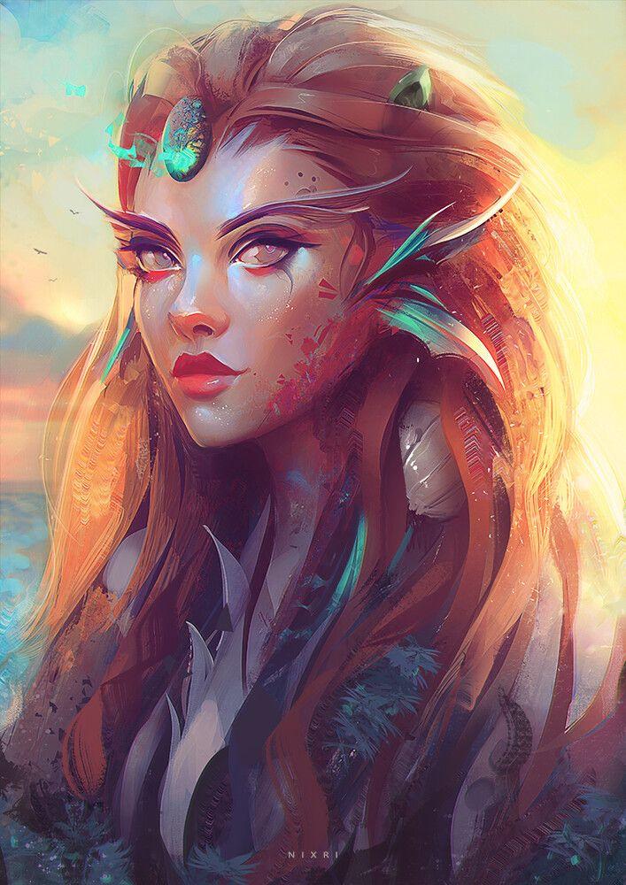 Mermaid, Nixri .