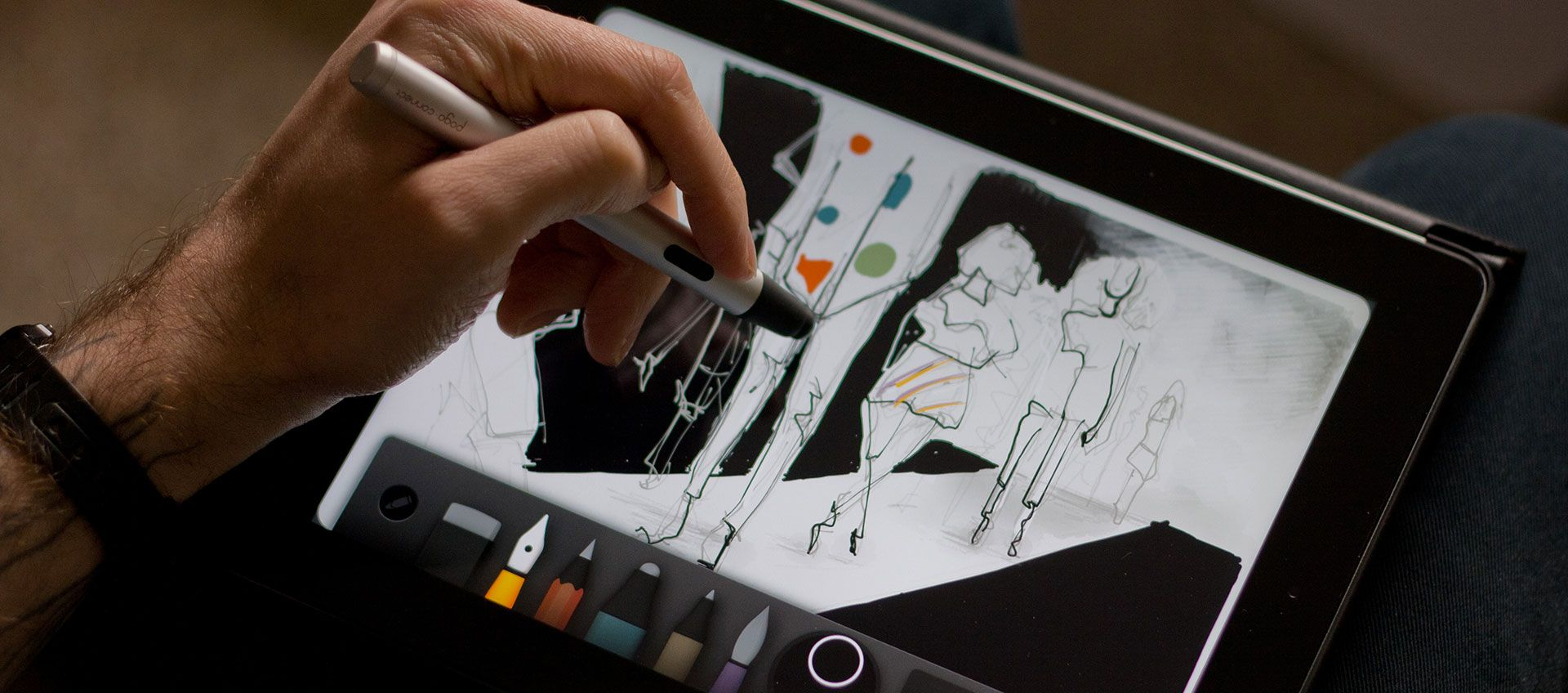 Mastering Paper for iOS contour line drawing Contour