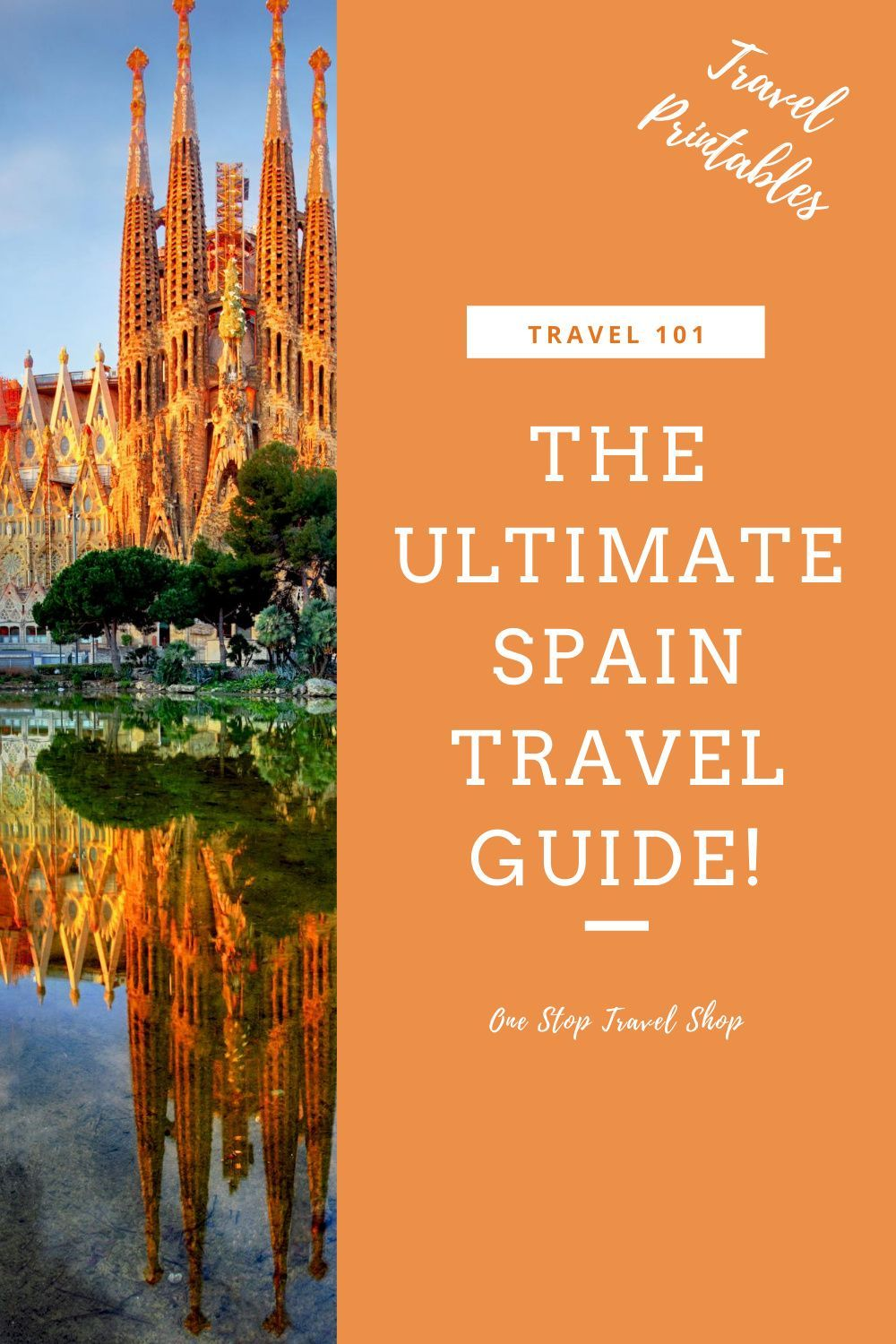Vacation planning is stressful. I love using pre-made travel printables, itineraries, and packing lists to help me plan. This bundle of Spain travel printables will help you plan your next Spanish vacation! Included are packing lists, a curated and tested 2-week itinerary, and a Spanish language travel guide. Visit Barcelona, Girona, Madrid, and Seville with this incredible itinerary, and make travel planning easier!