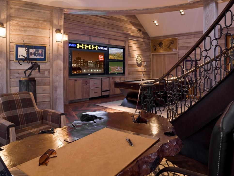 Media Rooms: Game On | HGTV