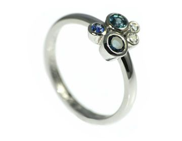 Anthony Wanted An Ocean Inspired Engagement Ring For Lisa Harriet